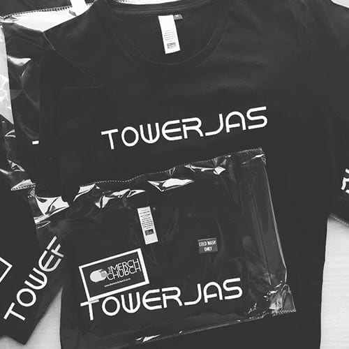 towerjas t-shirt